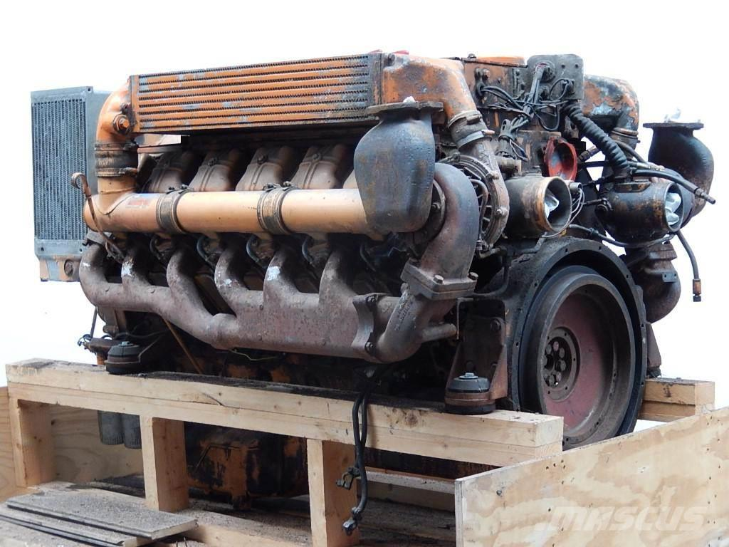 Deutz BF12L513C - motor second hand reconditionat cu pie