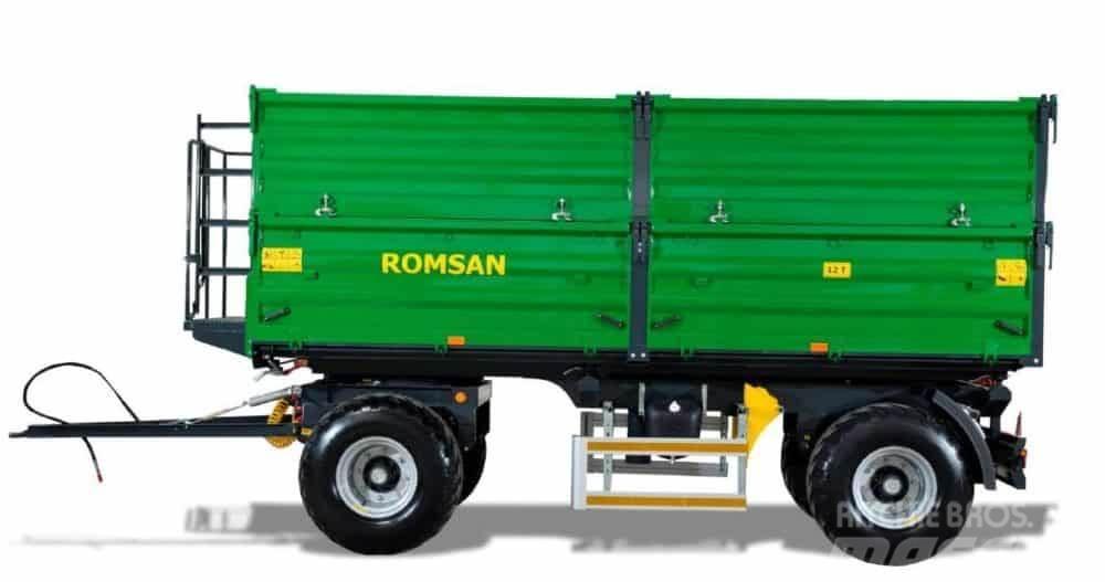 [Other] Remorca agricola ROMSAN 12 tone dubluax R120CSGA