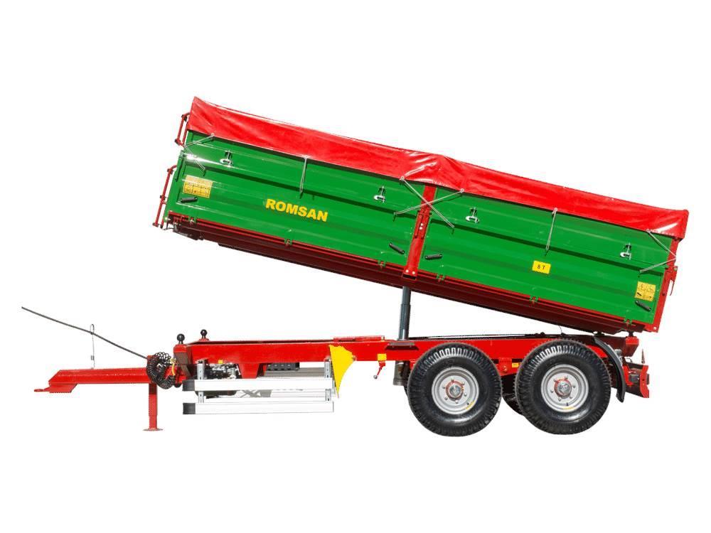 [Other] Remorca agricola ROMSAN 8 tone axa tandem R80TASGA