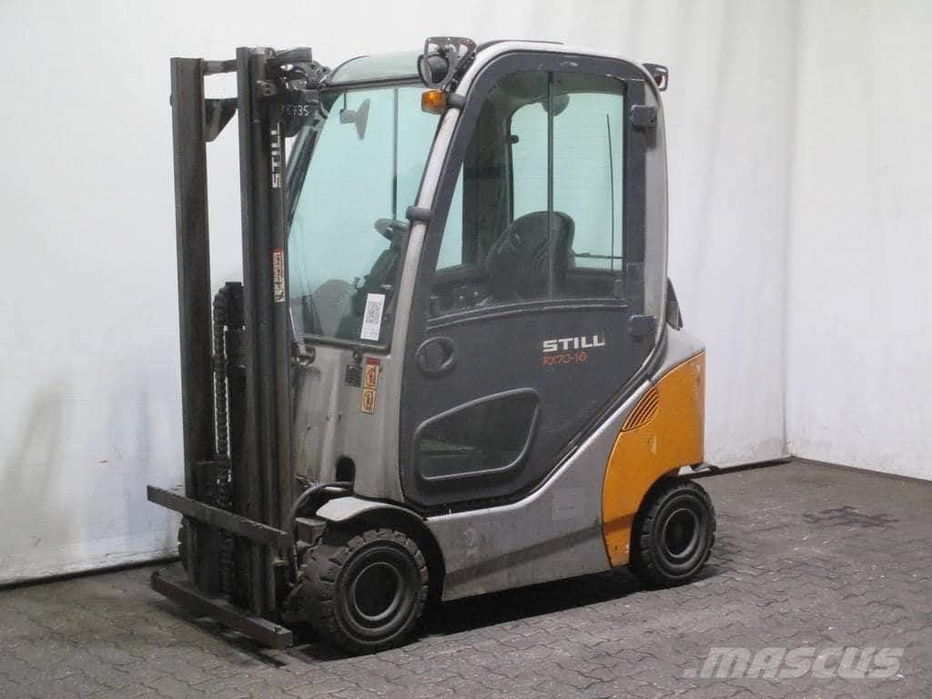 [Other] Stivuitor Linde RX70-16 , an fabricatie 2011 , ina