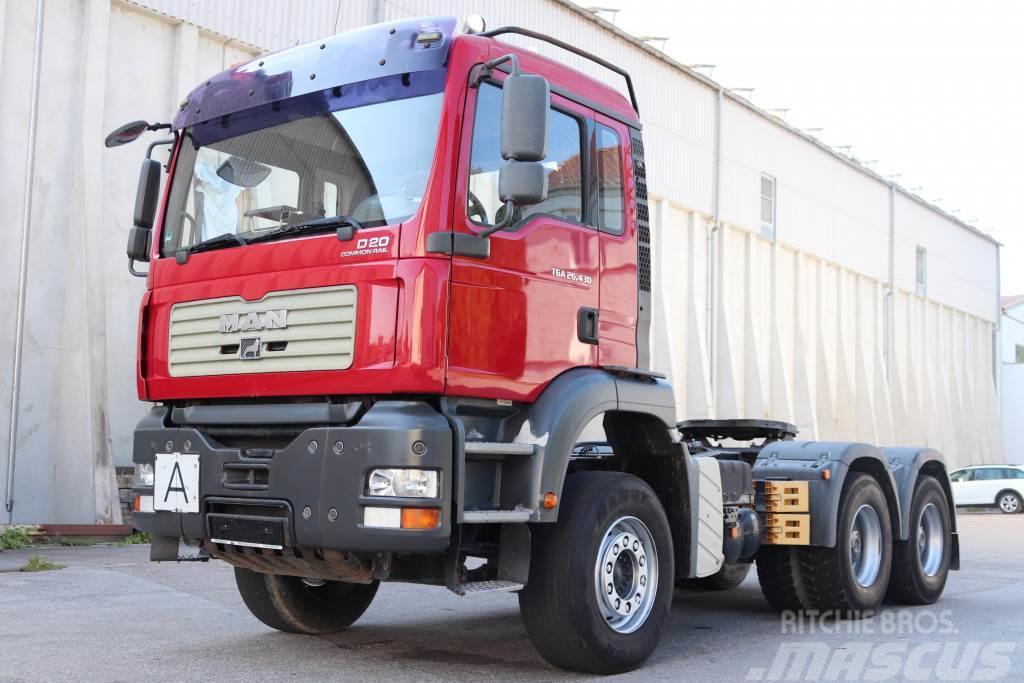 MAN TGA26.430 Retarder 6x4 E4 Kipper Hydraulik TÜV