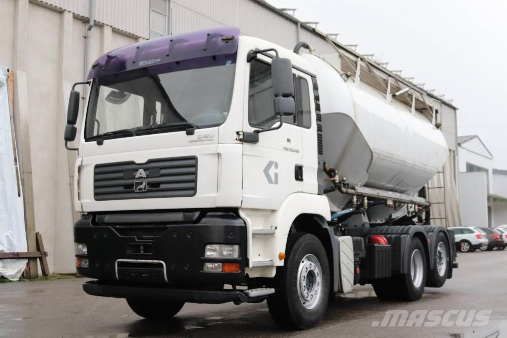 MAN TGA28.430 E4 Zement Silo 18.000l Pumpe