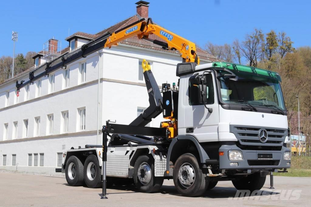 Mercedes-Benz Actros 3246 Neuer Kran Effer 150 8x4 E5 Leasing