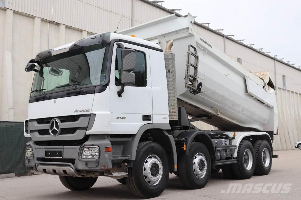Mercedes-Benz Actros 4141 MP3 8x4 E5 Meiller Kipper
