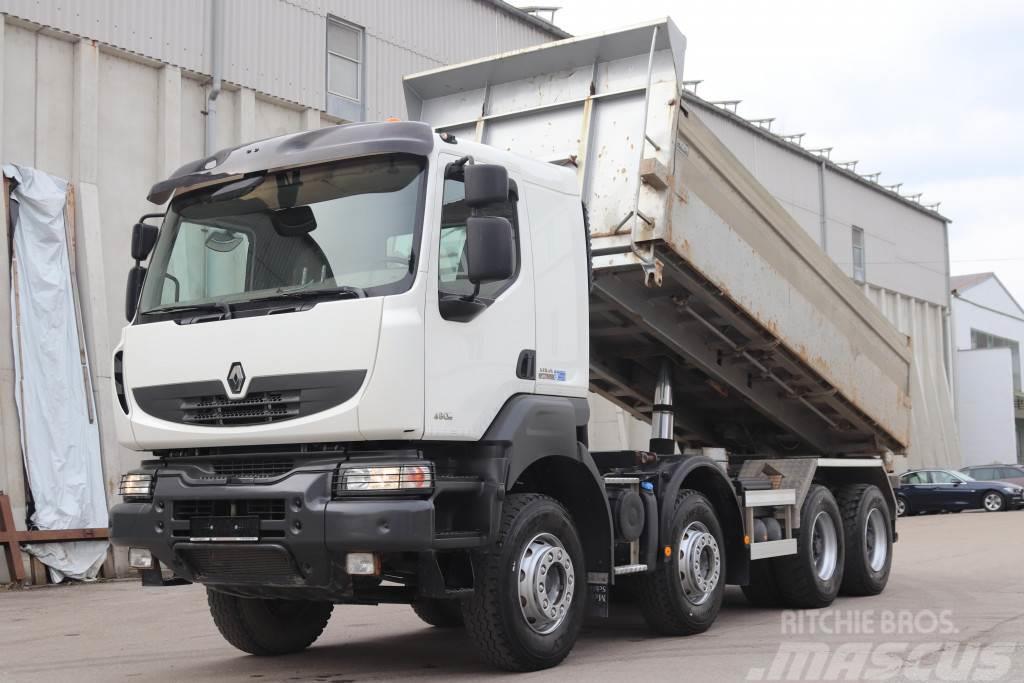 Renault Kerax 480 8x4 E5 Retarder Leasing