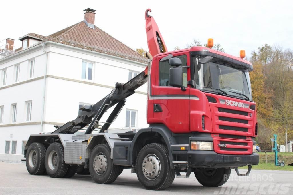 Scania G440 8x4 Manuell Retarder AHK E5 Leasing