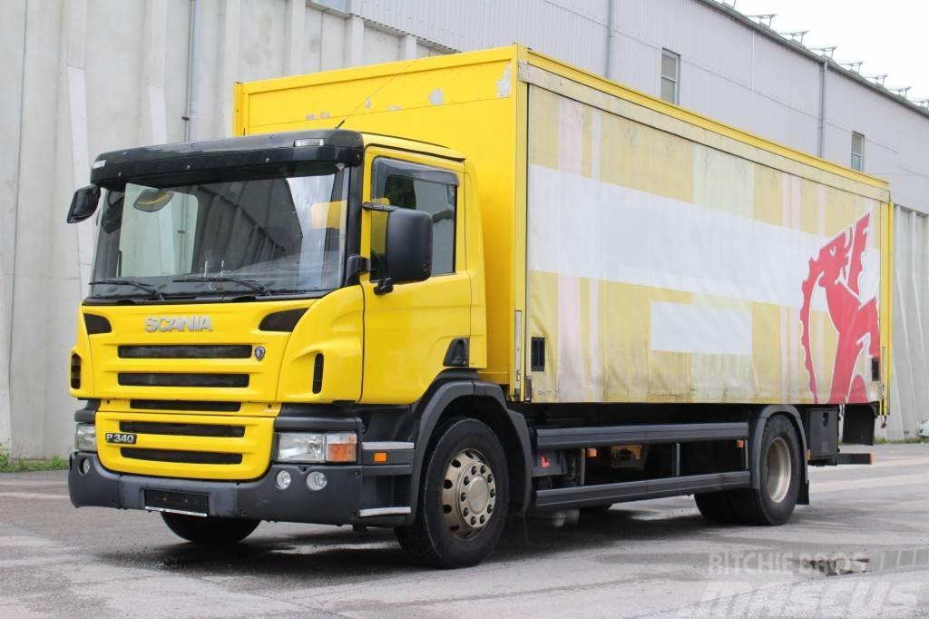Scania P340 4x2 Euro3 LBW AHK 2 NUR 288TKM
