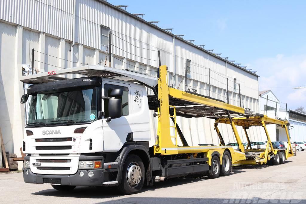 Scania P400 E5 6x2 Komplett Zug Anhänger Retarder