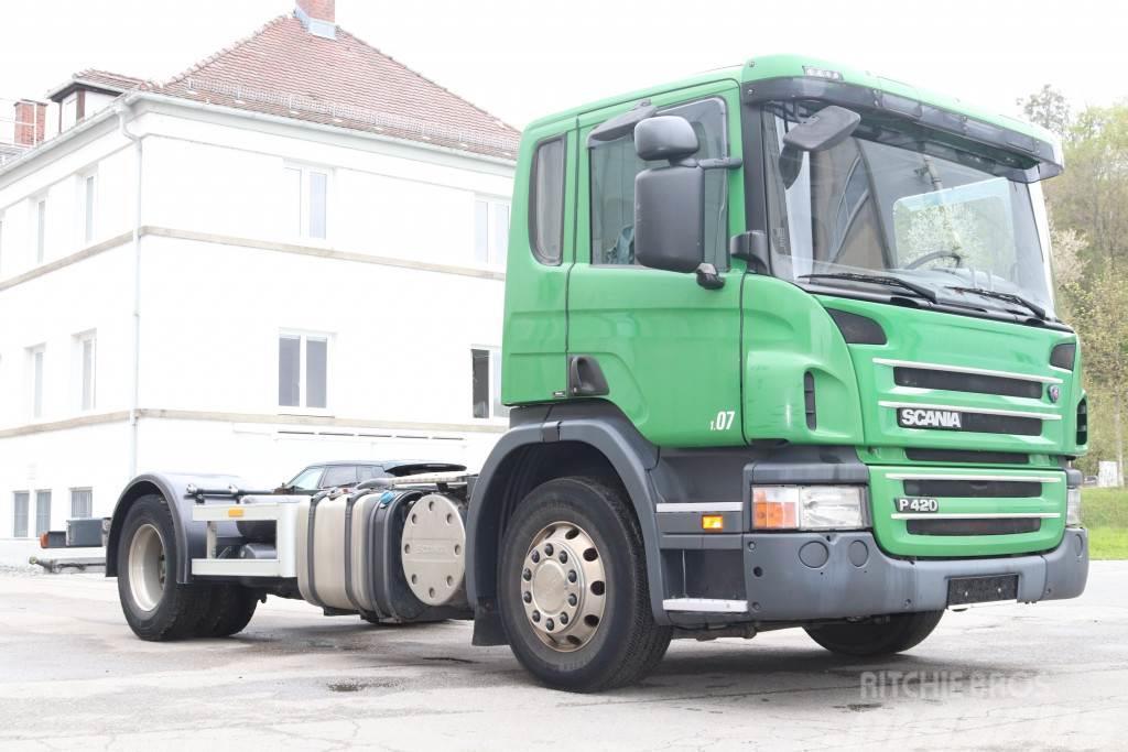 Scania P420 4x2 Euro5 ADR Retarder