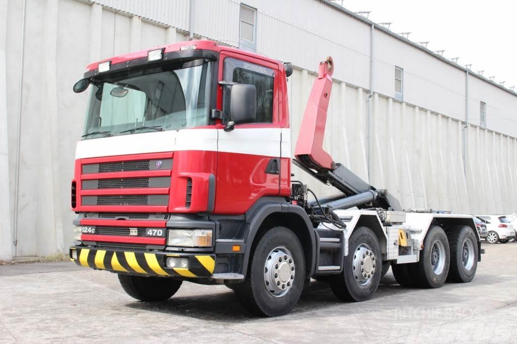 Scania R124.470 8x4 Euro3 Manuell Wechsel