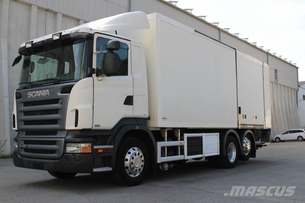 Scania R420 6x2 Euro5 Carrier LBW AHK