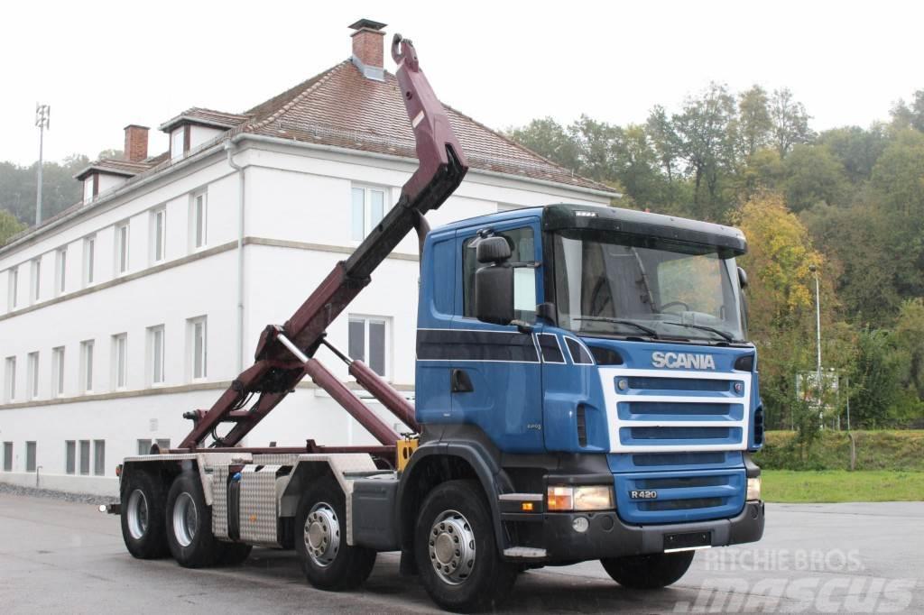 Scania R420 8x4 Manuell Retarder AHK E5 Leasing