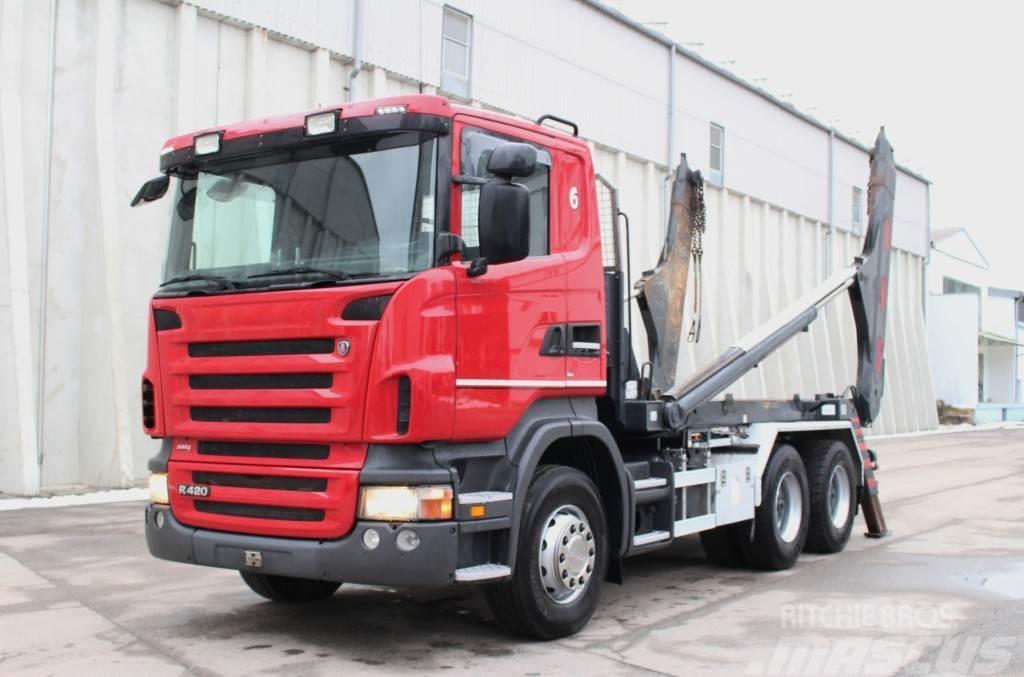 Scania R420 Euro4 Retarder Welaki AHK
