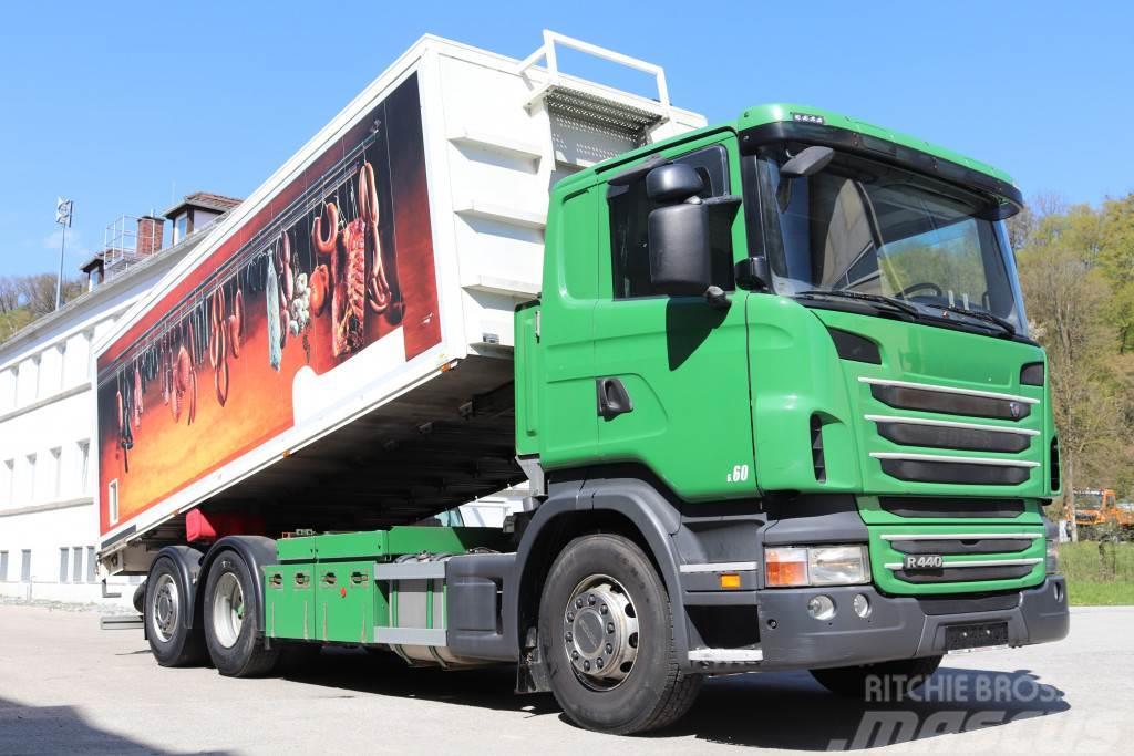 Scania R440 E5 6x2 Kippkasten Kompressor Fernbedienung