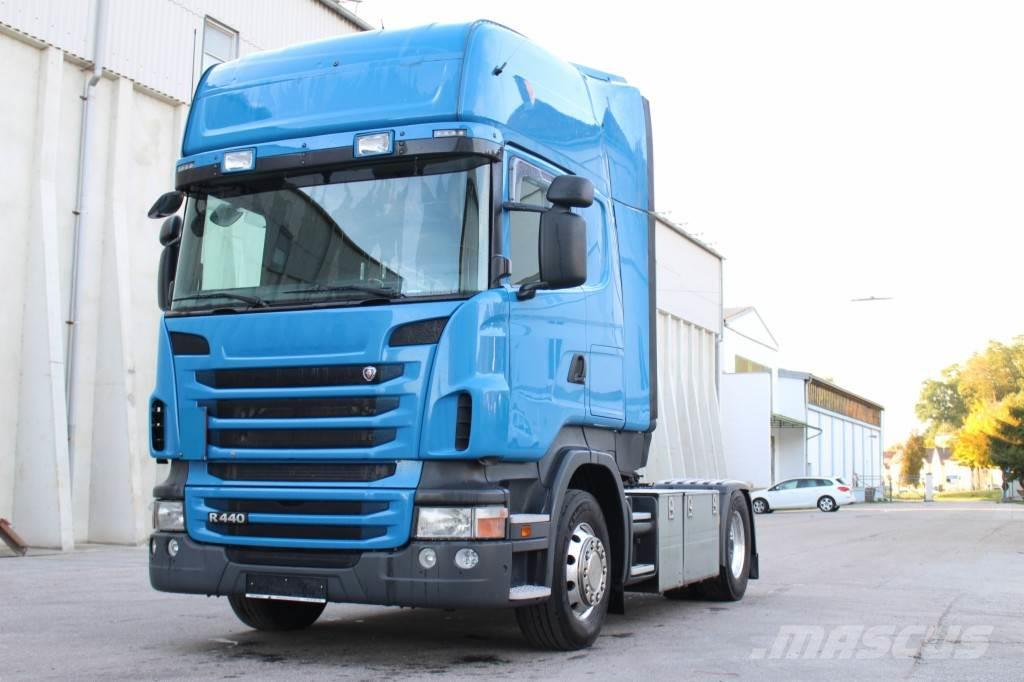 Scania R440 Euro5 Manuell Retarder Topline