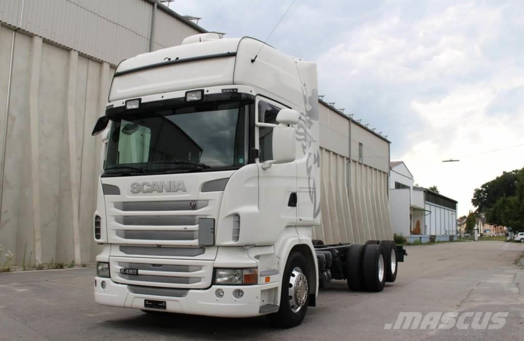 Scania R480 6x2 Euro5 Manuell Retarder Standklima
