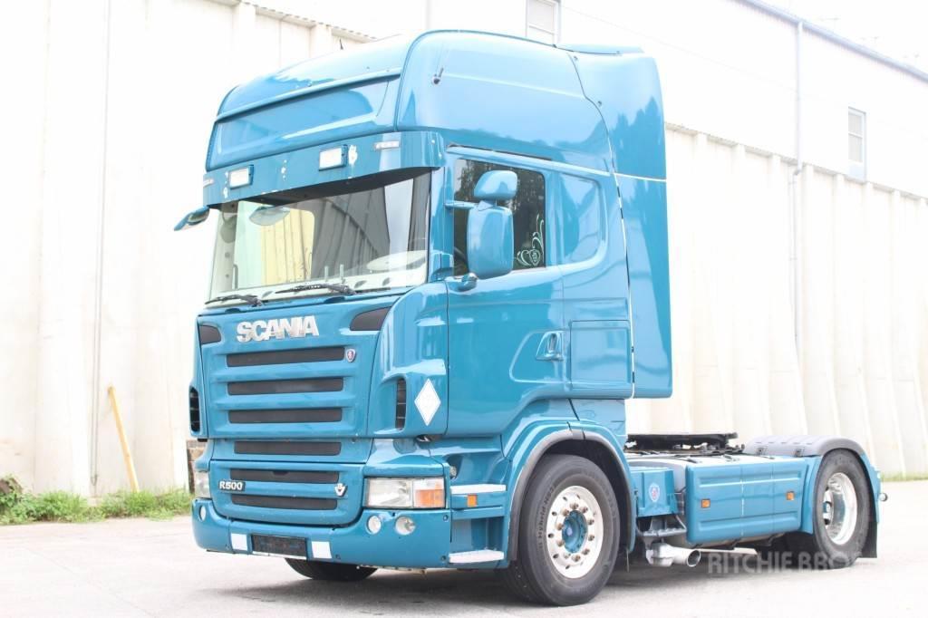 Scania R500 Euro5 Manuell Retarder 2 Tank