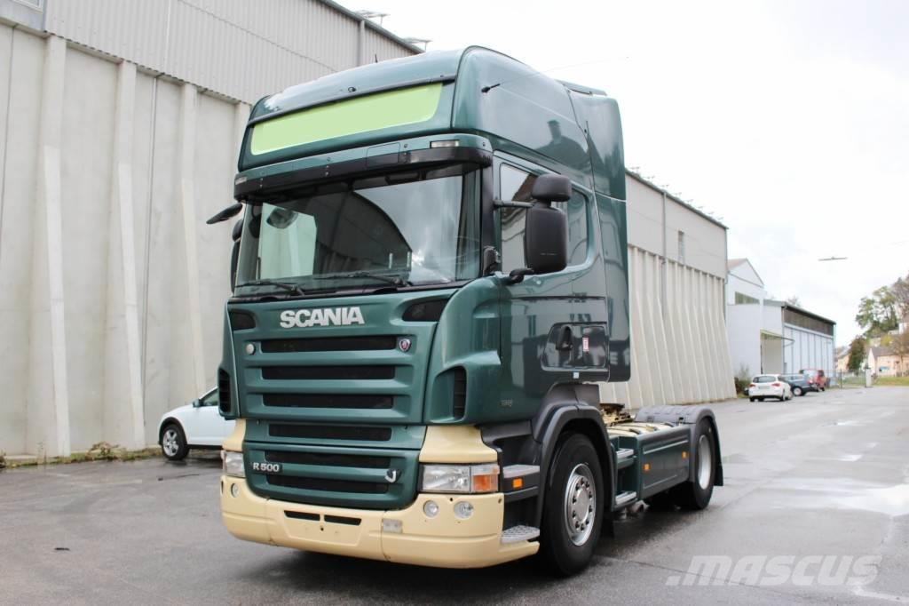 scania r500 v8 euro5 retarder topline occasion prix 18 900 ann e d 39 immatriculation 2007. Black Bedroom Furniture Sets. Home Design Ideas