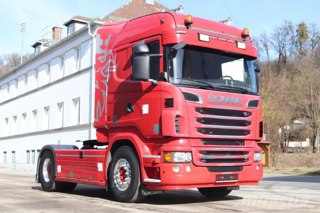 Scania R560 V8 E5 Retarder Kipper Hydraulik