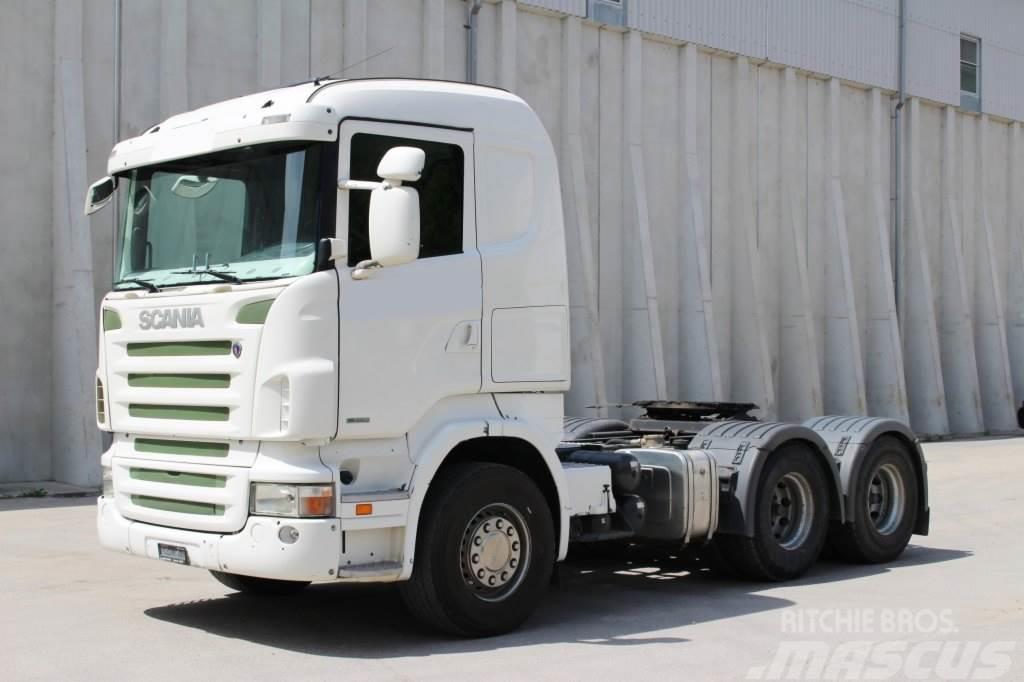 Scania Scania R480 6x4 Euro5 Retarder Kipphydraulik