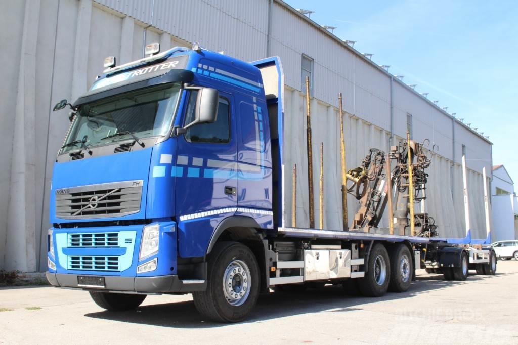 Volvo FH13.540 Holztransport Zug Leasing