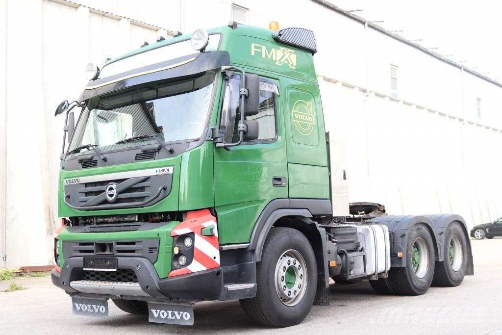 Volvo FMX 500 Retarder 6x4 E5 Kipper Hydraulik