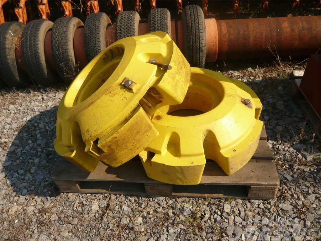 John Deere Radgewichte 2 x 645 KG