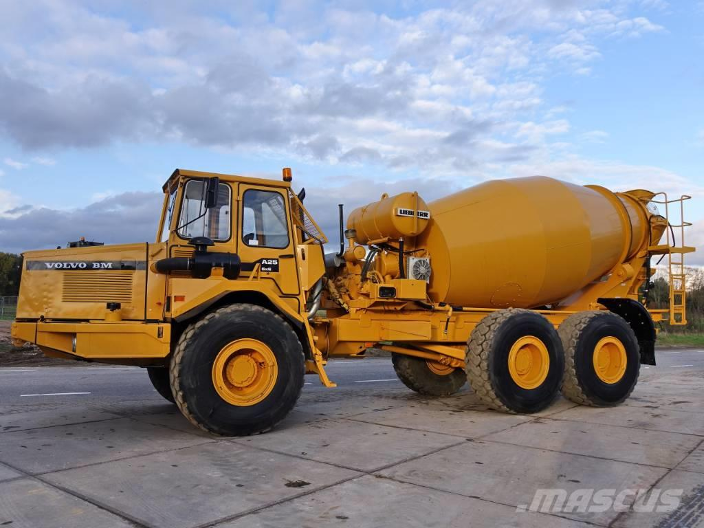 Volvo A25 (LIEBHERR 9M3 MIXER) - 4 UNITS AVAILABLE