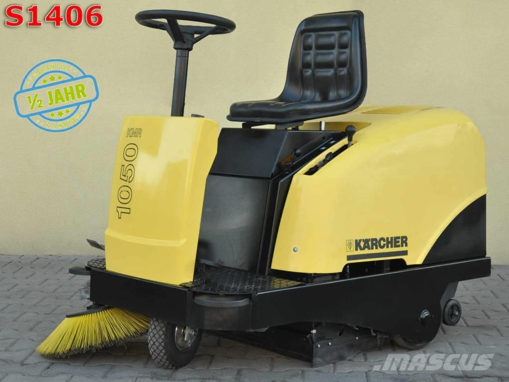 [Other] Sweeper KARCHER KMR 1050B TECUMSEH