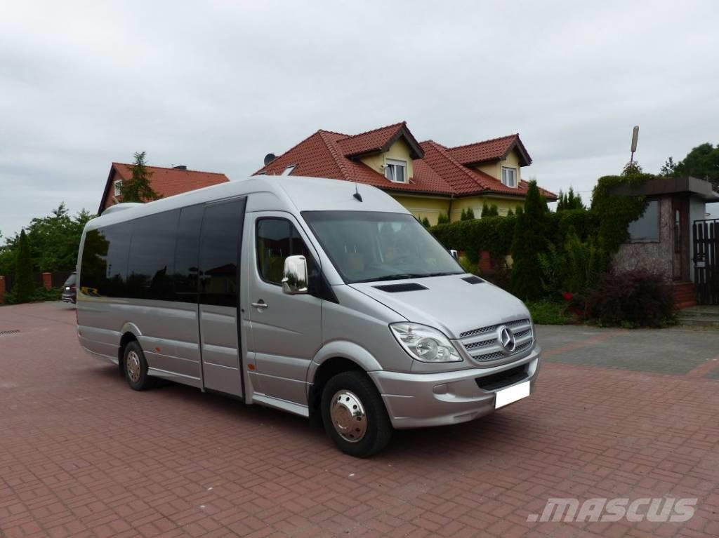 used mercedes benz sprinter 518 cdi xxxl 25 os euro 4 coach year 2009 price 38 196 for sale. Black Bedroom Furniture Sets. Home Design Ideas