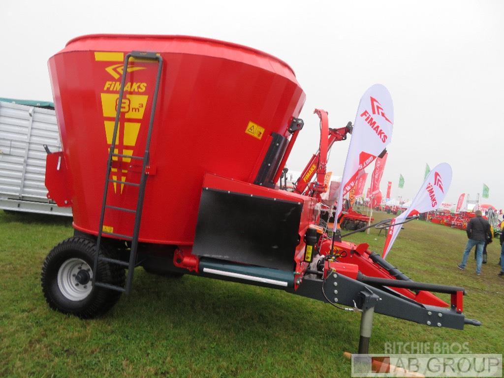 Fimaks Mixer feeder/Melangeuse/Futtermischwagen 8m3
