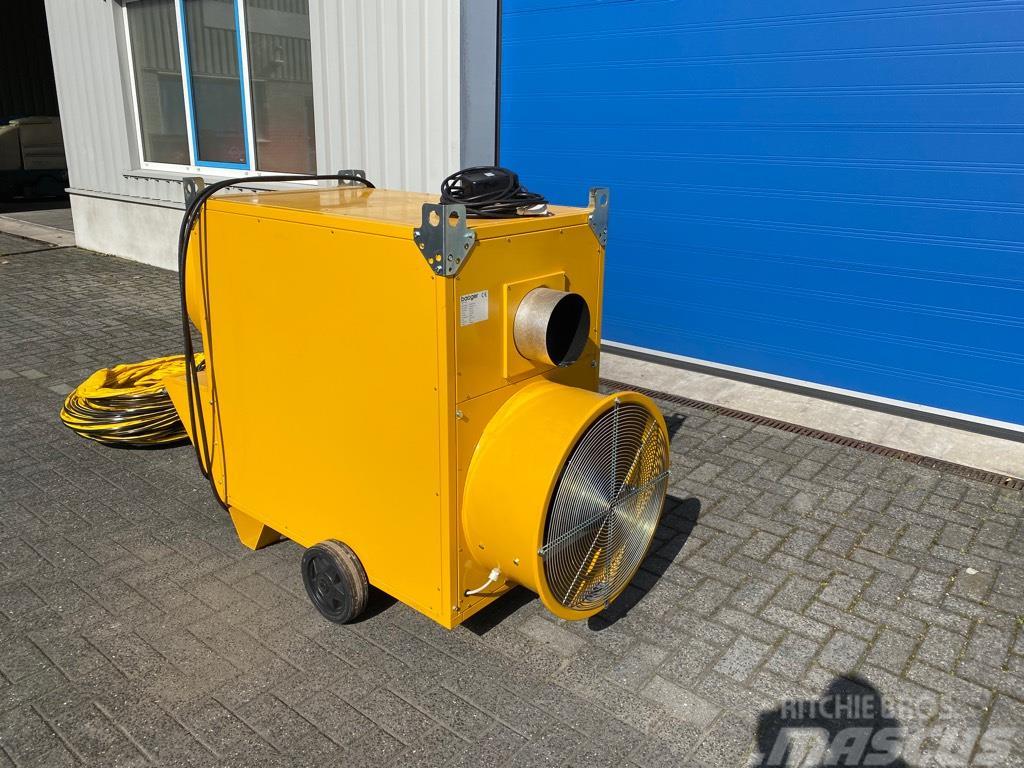 Master Bauger, Heater, 8000 m3/h, Diesel