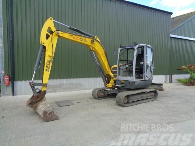 Wacker Neuson 6003 6 tonne excavator