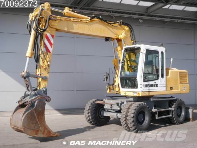 Liebherr A316 4X4 Nice and clean ex german machine