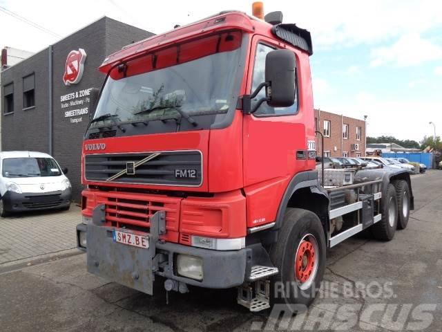 Volvo FM 12 420 6x4 manual big axles