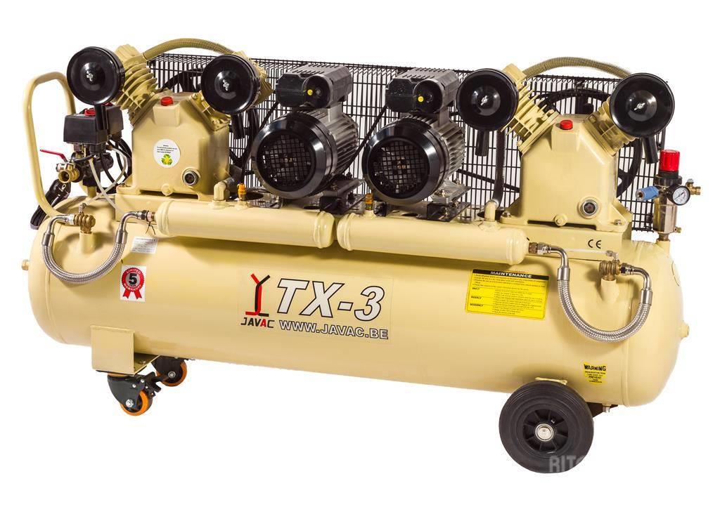 Javac - TX-3 BIS Compressor - 2x4 PK 1000 l/m,230V,10bar