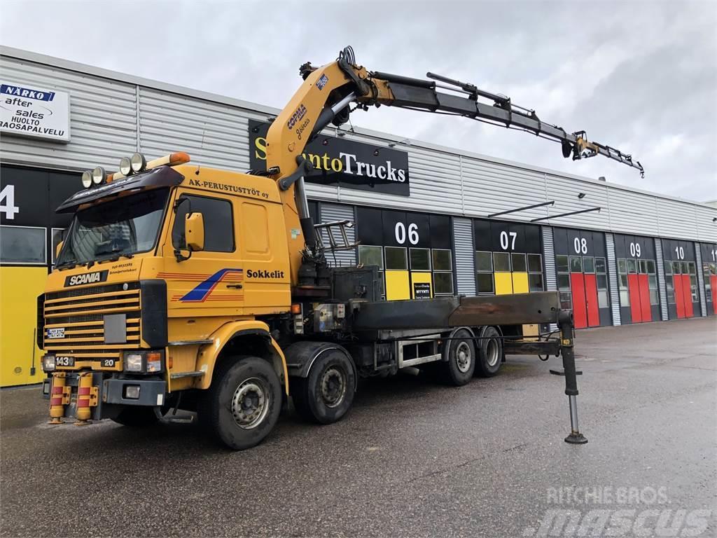 Scania R 143 8X2