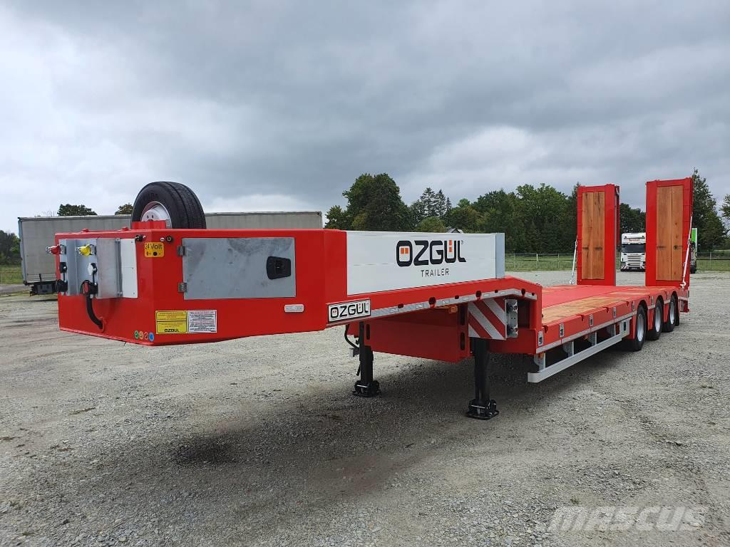 [Other] ÖZGÜL TREYLER 3axl lowbed with ramps