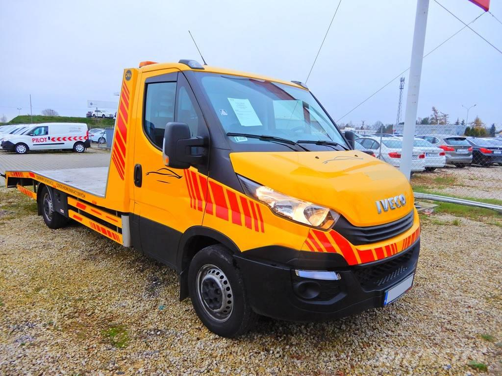Iveco Daily 35S18 /e6/ 180HP / 60k km / 2018 /car tow