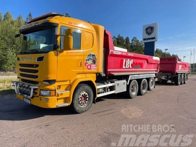 Scania R5808x4*4