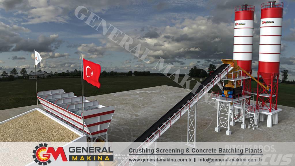 General Diamond 60 Concrete Mixing Plant