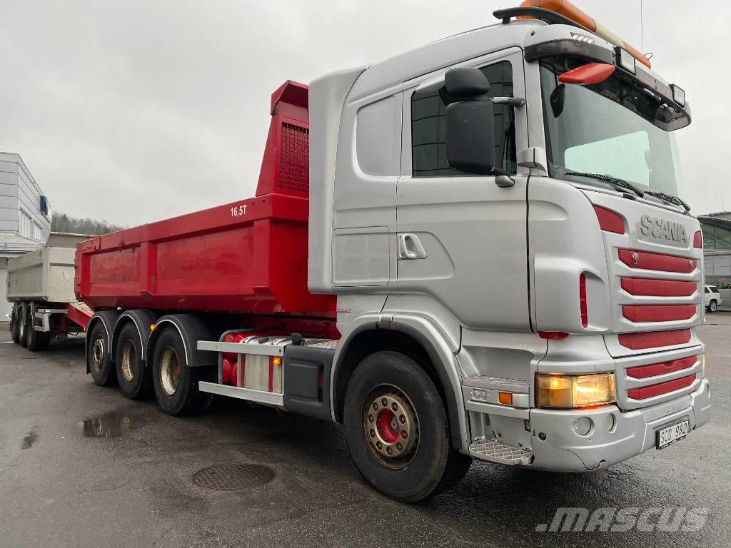 Scania R 480 LB8x4*4
