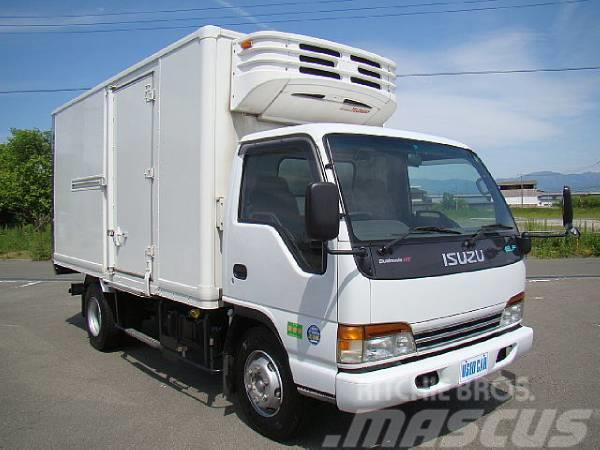 Isuzu エルフ4t 冷凍車 【ワイドロング】