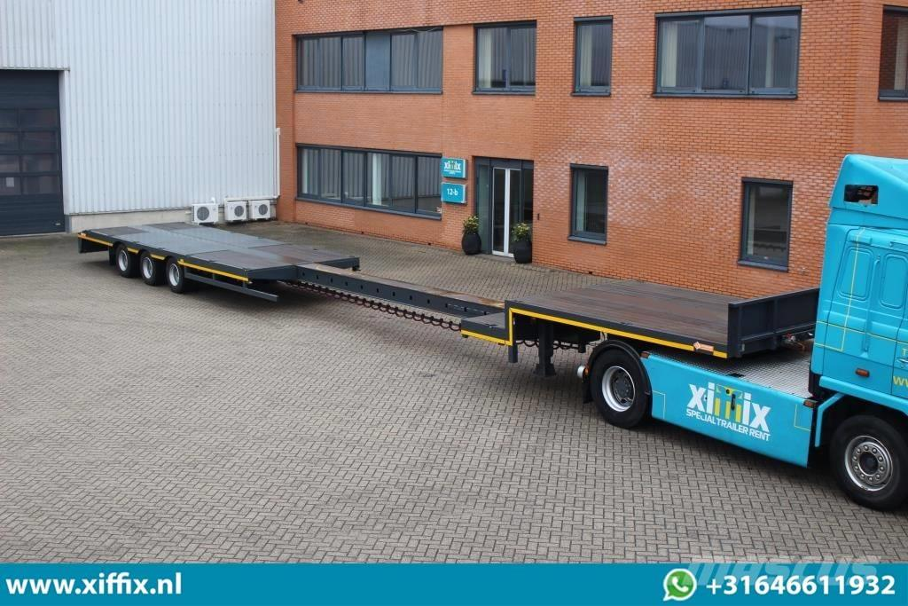 Lintrailers NEW 3 axle extend. Semi // friction steering