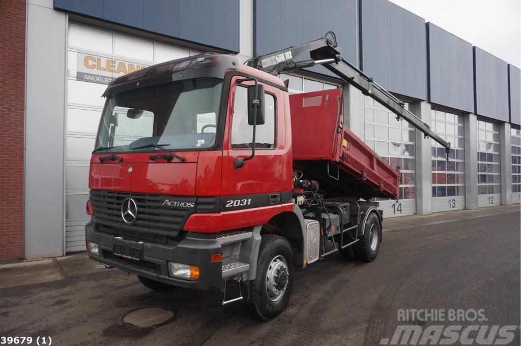 Mercedes-Benz Actros 2031 4x4 Hiab 10 ton/meter laadkraan