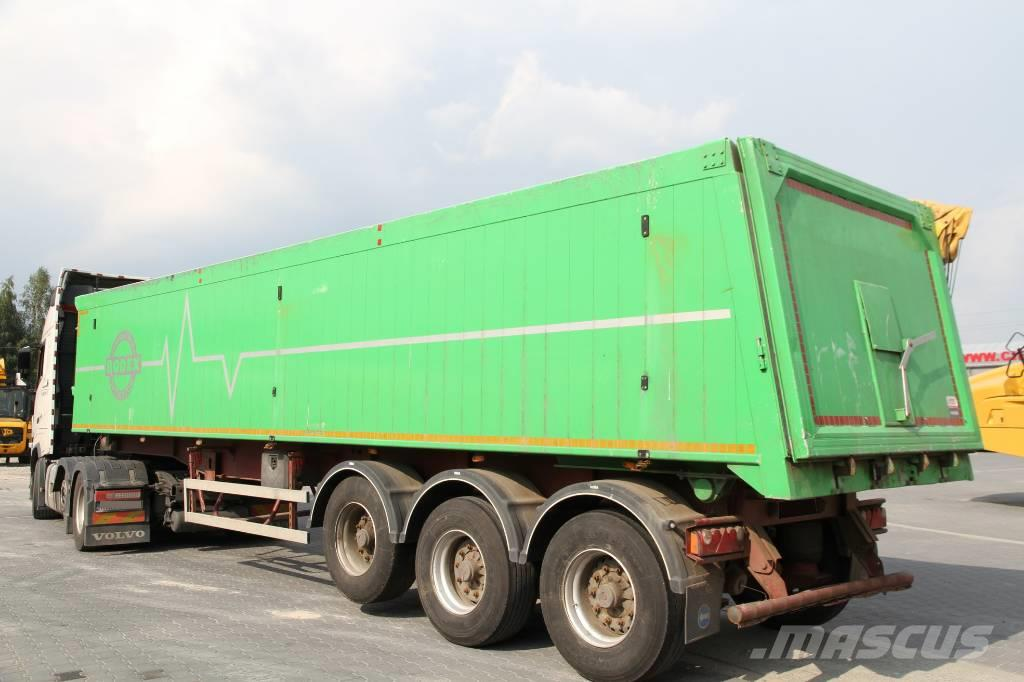 Bodex NACZEPA WYWROTKA 40 T KIS3B – 41 m3