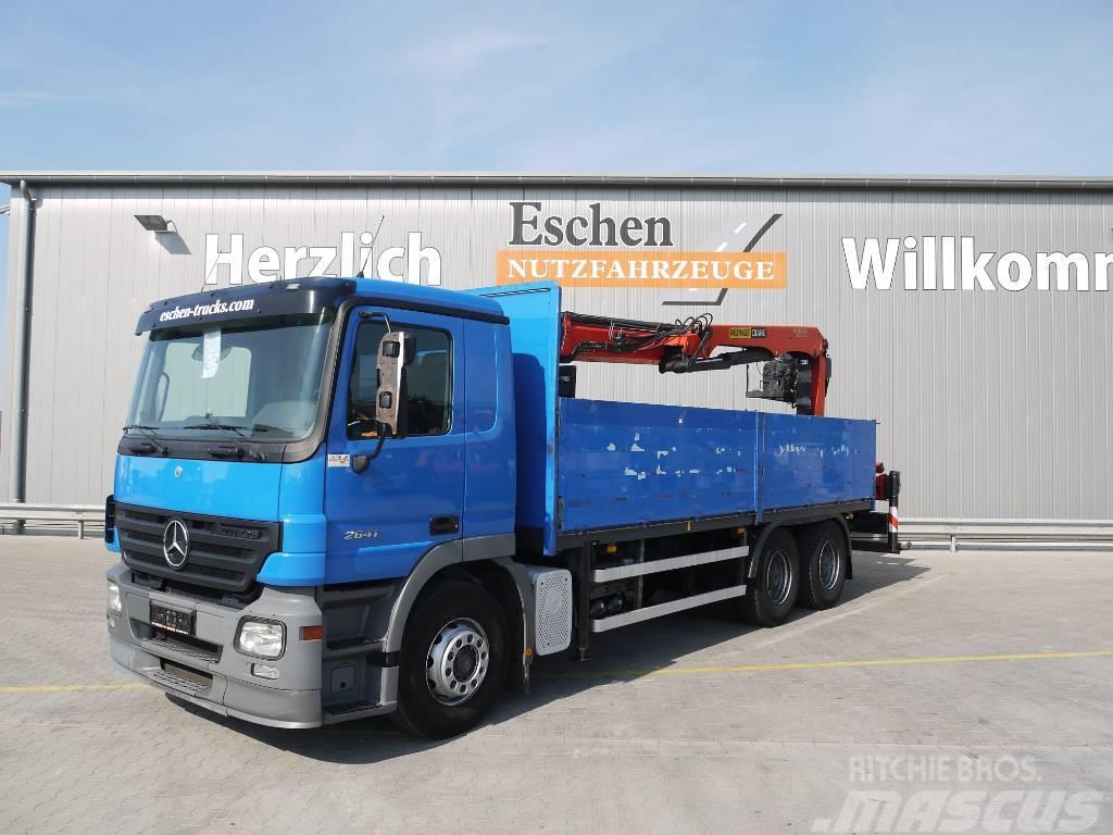 Mercedes-Benz 2641 L, 6x4, Palfinger PK 21001L Kran, AP Achsen