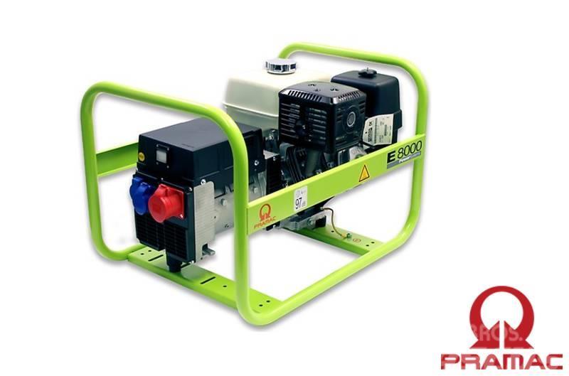 Pramac E8000 400/230V  8.3/4 kVA