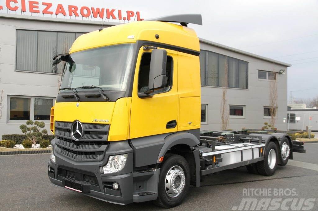 Mercedes-Benz ACTROS 2540 6x2 E6 CHASSIS