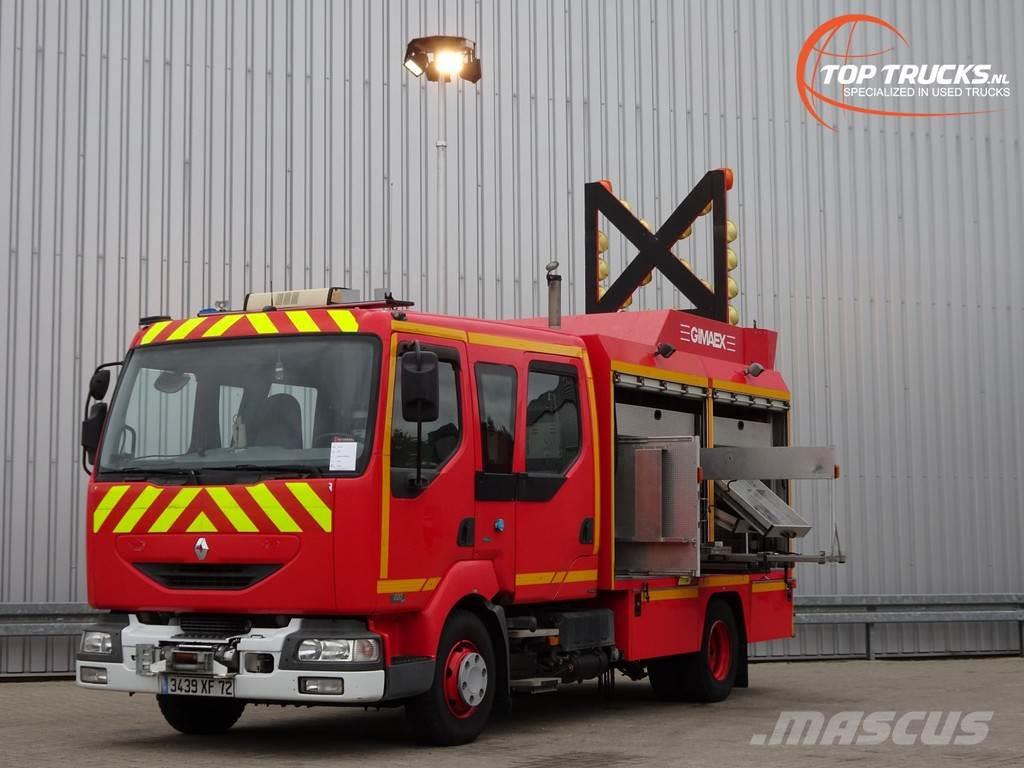 Renault Midlum 220 DCI Calamiteiten truck, Rescue-Vehicle